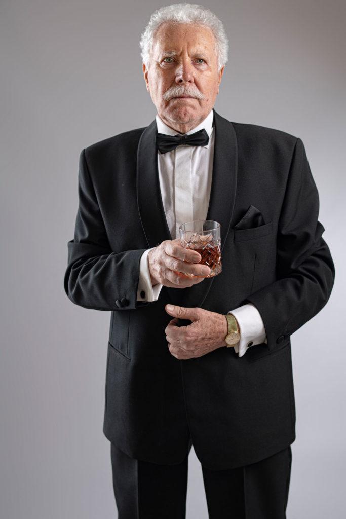 Don Miguel mit Rumglas